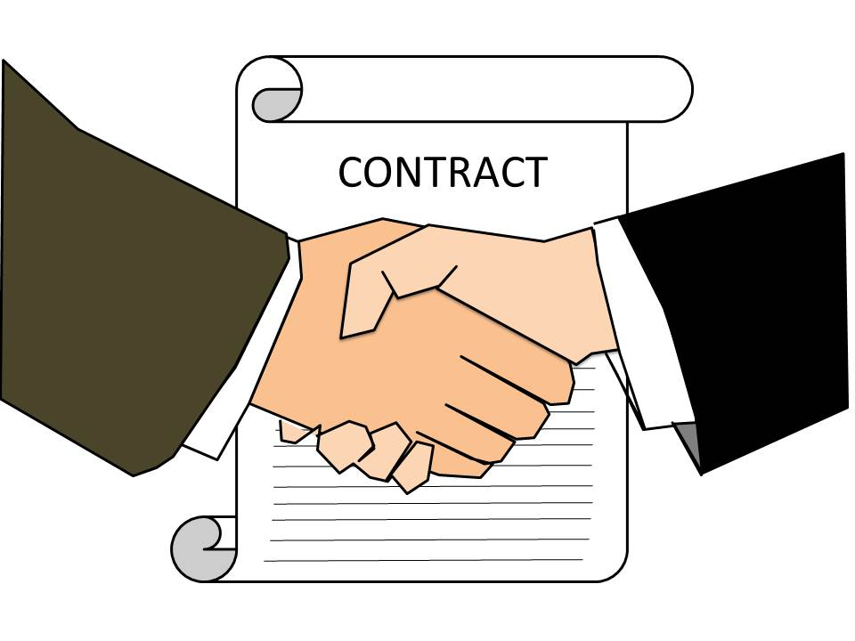 Wed Like To Offer You A Contract
