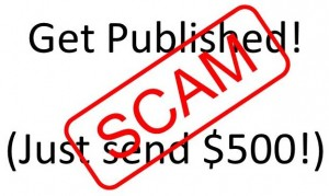 Writer Scam