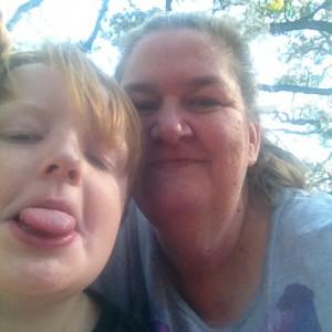 Wynelda Deaver & son